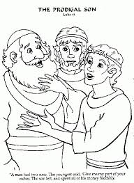 1000 Images About Preschool Bible A Forgiving Fatherprodigal Inside The Stylish Prodigal Son Coloring Page Intended