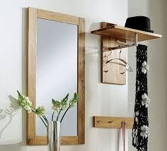 spiegel mit hochwertigen holzrahmen