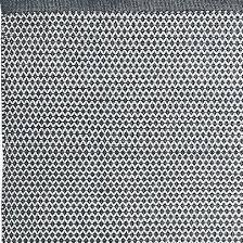 gartendeko poly outdoor teppich läufer 70 x 200 schwarz weiss