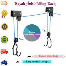 Kayak Hoist Ceiling Rack by Bicycle Bike Hoists Ebay