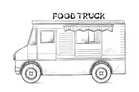 Food Truck Sketch ~ Illustrations ~ Creative Market Drawing Truck Transporting Load Stock Illustration 223342153 How To Draw A Pickup Step By Trucks Sketch Drawn Transport Illustrations Creative Market Of The A Vector Truck Lifted Pencil And In Color Drawn Container Line Photo Picture And Royalty Free Semi Idigme Cartoon Drawings Simple Dump Marycath Two Vintage Outline Clipart Sketch