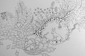 Enchanted Forest Coloring Book Pages Adult