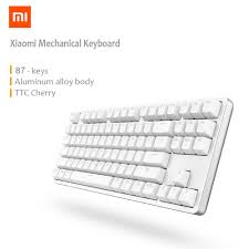 XIAOMI Mi Mechanical Keyboard 87 Keys Gaming Keyboard With Cherry Red  Switches And LED Backlit - White Gateron Optical Switches Gk61 Mechanical Keyboard Review Keyboards Coupon Code Bradsdeals North Face Rantopad Black Mxx With Green And Orange Keycaps Logitech Canada Yebhi Discount Codes 2018 Hyperx Launches Its Alloy Elite Fps Pro Top 10 Rgb Keyboards Of 2019 Video Review Macally Backlit For Mac Usb Wired Full Size Compatible With Apple Mini Imac Macbook Air Brown Buckling Spring Ultra Classic White Getdigital Xiaomi 87 Keys Blue Professional Gaming Akko 3068 Wireless Unboxing 40 Lcsc On First Order