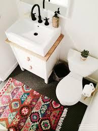 Large Modern Bathroom Rugs by Fancy Double Vanity Bath Rug And Large Red Bathroom Rugs