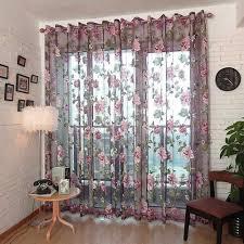 Schlafzimmer Vorhã Nge Schlafzimmer Vorhänge Für Wohnzimmer Für Küche Floral Print