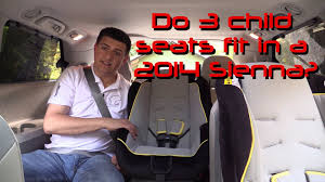 2013 Toyota Highlander Captains Chairs by 2014 Toyota Sienna Child Seat Review Youtube