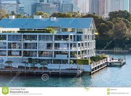 100 Woolloomooloo Water Apartments Wharf Historic Building With Sydney CBD View