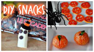 Healthy Halloween Candy Alternatives by Diy Easy Cheap U0026 Healthy Halloween Snack Ideas Youtube