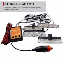 4Pcs Stroboscopes Police Strobe Lights Kit For Emergency Vehicles ... 4pcs Stroboscopes Police Strobe Lights Kit For Emergency Vehicles Trucklite Super 60 Led Integral 60120y 4x Car Light Kit Warning Flashing Hazard Light 2011 F250 Hidden Strobes Youtube Hidden From Buyers Products Cheap Led Kits For Trucks Find Wireless 48w 16 In 1 Truck Motorcycle Strobe Light Kit Can Civilians Use Private Em Vehicle Simple Trailer Cheap Urgency Set 12v 88led Orange Abrams T3 W Grille White