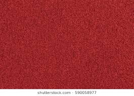 Seamless Bright Red Carpet Background Texture Shot From Above
