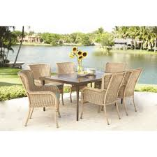 Hampton Bay Lemon Grove 7-Piece Wicker Outdoor Dining Set With ... Tortuga Outdoor Portside 5piece Brown Wood Frame Wicker Patio Shop Cape Coral Rectangle Alinum 7piece Ding Set By 8 Chairs That Keep Cool During Hot Summers Fding Sea Turtles 9 Piece Extendable Reviews Allmodern Rst Brands Deco 9piece Anthony Grey Teak Outdoor Ding Chair John Lewis Partners Leia Fsccertified Dark Grey Parisa Rope Temple Webster 10 Easy Pieces In Pastel Colors Gardenista The Complete Guide To Buying An Polywood Blog Hauser Stores