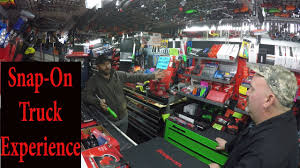 100 Tool Trucks SnapOn Truck Experience YouTube