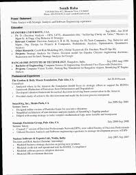 Sample Resume Computer Science 9XOV Lecturer Engineering College Valid