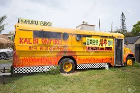 KAHUKU, OAHU, HAWAII - FEBRUARY 27, 2017: Kalbi On Fire BBQ Food ... Food Truck On Oahu Humans Of Silicon Valley Plate Lunch Hawaiian Kahuku Shrimp Image Photo Bigstock Famous Kawela Bay Hawaii The Best Four Cantmiss Trucks Westjet Magazine Stock Joshuarainey 150739334 Aloha Honolu Hollydays Fashionablyforward Foodie Fumis And Giovannis A North Shore Must Trip To Kahukus Famous Justmyphoto Romys Prawns Youtube Oahus Haleiwa Oahu Hawaii February 23 2017 Extremely Popular