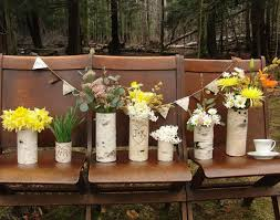 VaseRustic Country Wedding Flowers Ideas Combined With Beautiful Yellowflowers Arrangements In Rustic