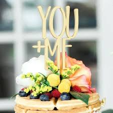 Rustic Wedding Cake Toppers You And Me Topper Grace Bridal Boutique Ebay