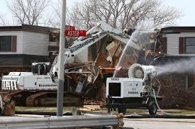 Gallery: Demolition Begins On The West Calumet Housing Complex ...