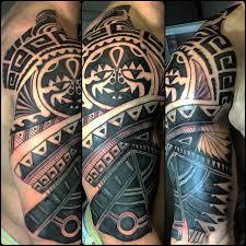 Tribal Cover Up Half Sleeve Tattoo Idea