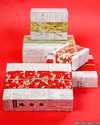 Japanese Newspaper Gift Wrap