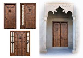 Alpujarrenas Manufacturing Of Rustic Style Doors In Spain Classic Exterior From