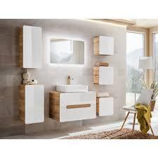 badezimmer spiegel colustro 80 x 60cm mit led beleuchtung
