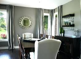 Inspirational Design Ideas Modern Dining Room Curtains Large Size