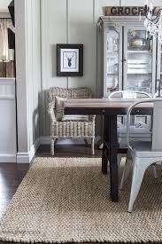 Beautiful Dining Room Design And Decor Ideas Natura Handspun Jute Rug