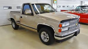100 Stepside Trucks 1992 Chevrolet CK 1500 Series Silverado Stock 111058 For