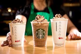 Pumpkin Frappuccino Starbucks by Starbucks Brews Up 3 Limited Time Valentine U0027s Day Inspired