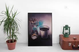 ombre et lumière format 32 x 40 technique peinture à l huile