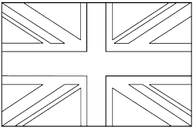 England Flag Coloring Page Pages British Breadedcat Free Disney