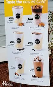 Pumpkin Spice Latte Mcdonalds Calories by Try The New Mccafe Coffees At Mcdonald U0027s Any Small For 2 Mccafe