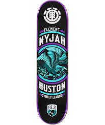 element x street league nyjah huston 8 0 skateboard deck zumiez