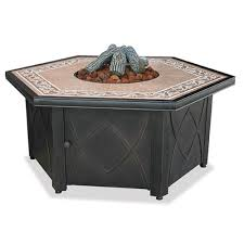 import outdoor pit with ceramic tile top import outdoor