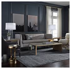Armen Living 844 Barrister Sofa by Devon Sofa Multiple Fabric And Leather Options Available