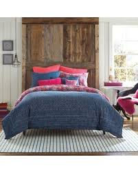 Here s a Great Deal on Anthology Happy Indigo Reversible Twin