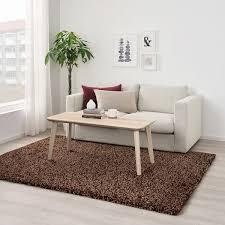 vindum teppich langflor braun 170x230 cm ikea österreich