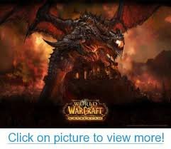 steelseries qck world of warcraft cataclysm gaming mouse pad