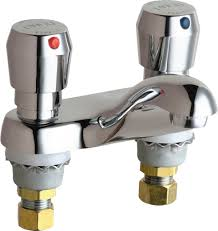 Foot Pedal Faucet Kit by Chicago Faucets Ecast Lead Free Faucets
