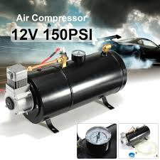 Hot Sale 12Volt 150PSI Air Compressor 0.7 Gallon Tank Pump For Air ... Air Tanks For Trucks Trailers And Buses Pp201409 Youtube New Products Issue 12 Photo Image Gallery 11 Gallon Portable Tank Truck 35 Liters Stock Edit Now 10176355 Alinium Air Tank Tamiya 114 Truck 5kw Diesel Parking Heater 12vfuel Car Bus Motor My Favorite Accsories Agwebcom Used With Dryer For 2007 Freightliner C120 Century Husky 10 Gal Tankct10h The Home Depot Hoods All Makes Models Of Medium Heavy Duty Whosale Alinium Online Buy Best