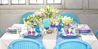 Spring Table Decorations And Seasonal Decoration Ideas Party Perennials Limes Simple Centerpieces