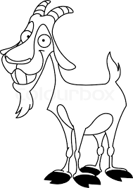 Outlined Billy Goat