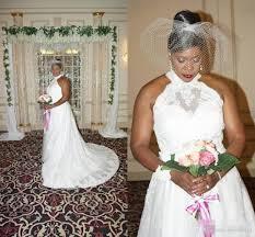 Discount Halter Neck Plus Size Pregnant Women Wedding Dresses 2017 New Rustic Garden Vestido De Novia Vintage Lace Bridal Gowns Custom Made With