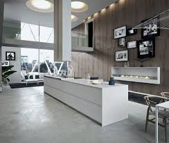 cuisine avec grand ilot central grand îlot central dans cuisine de loft open kitchens interiors