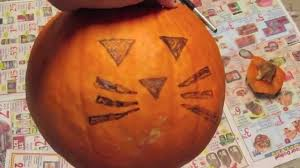Funny Pumpkin Carvings Youtube by Diy Cat Pumpkin Carving Allie Young Youtube
