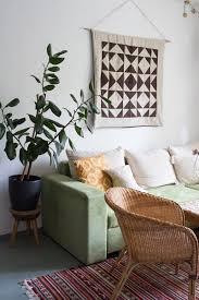 home tour mein wohnzimmer im boho look green bird diy