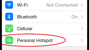 How to Get Missing Personal Hotspot in Settings iOs Devices iphone