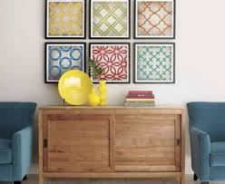 Frame Fabric Wall Art Design Diy Framed