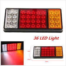 1x 12v 36 LED Ute Rear Trailer Tail Lights Caravan Truck Boat Car ... 2x Led Rear Tail Lights Truck Trailer Camper Caravan Bus Lorry Van 0708 Dodge Ram Pickup Euro Red Clear 111 Round And W Builtin Reflector 4 Inch Led Whosale 2018 8 Car Light Warning Rear Lamps Waterproof Amazonca Trucklite 44022r Super 44 Stopturntail Kit 42 2 Pcs With License Plate Lamp Durable Lights Ucktrailer Circular Stoptail Lamp 1030v 1 Pair 12v Turn Signal 20fordf150taillight The Fast Lane