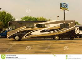A Fancy Rv At Camping World Fort Myers